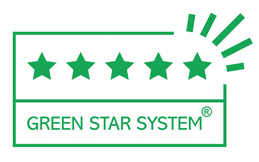 Visual Com Green Star System - 5 sterren
