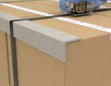 Hoekprofiel van compact karton ter bescherming van kwetsbare hoeken