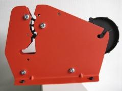 Zakkensluiter voor het sluiten van zakken met tape
