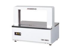 Halfautomatische banderolleermachine voor verwerking van banderolleer papier en folie