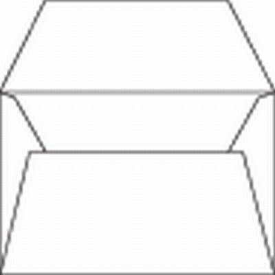 envelop 120x180 zonder venster rechte klep ongegomd