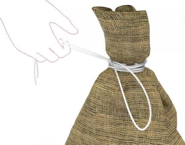 Polypropyleen touw om producten te bundelen